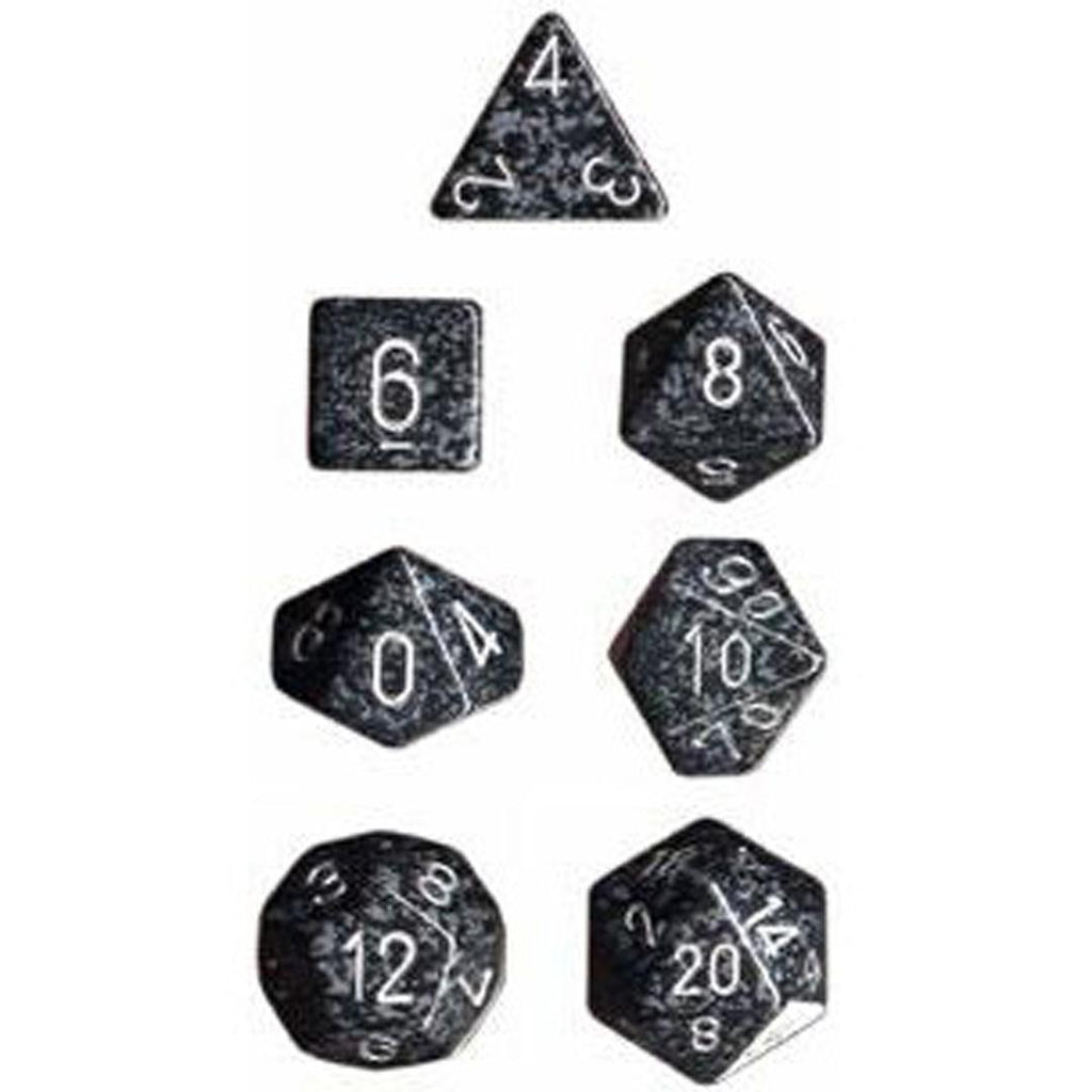 Chessex Polyhedral Dice Set: Speckled Hi-Tech (7)