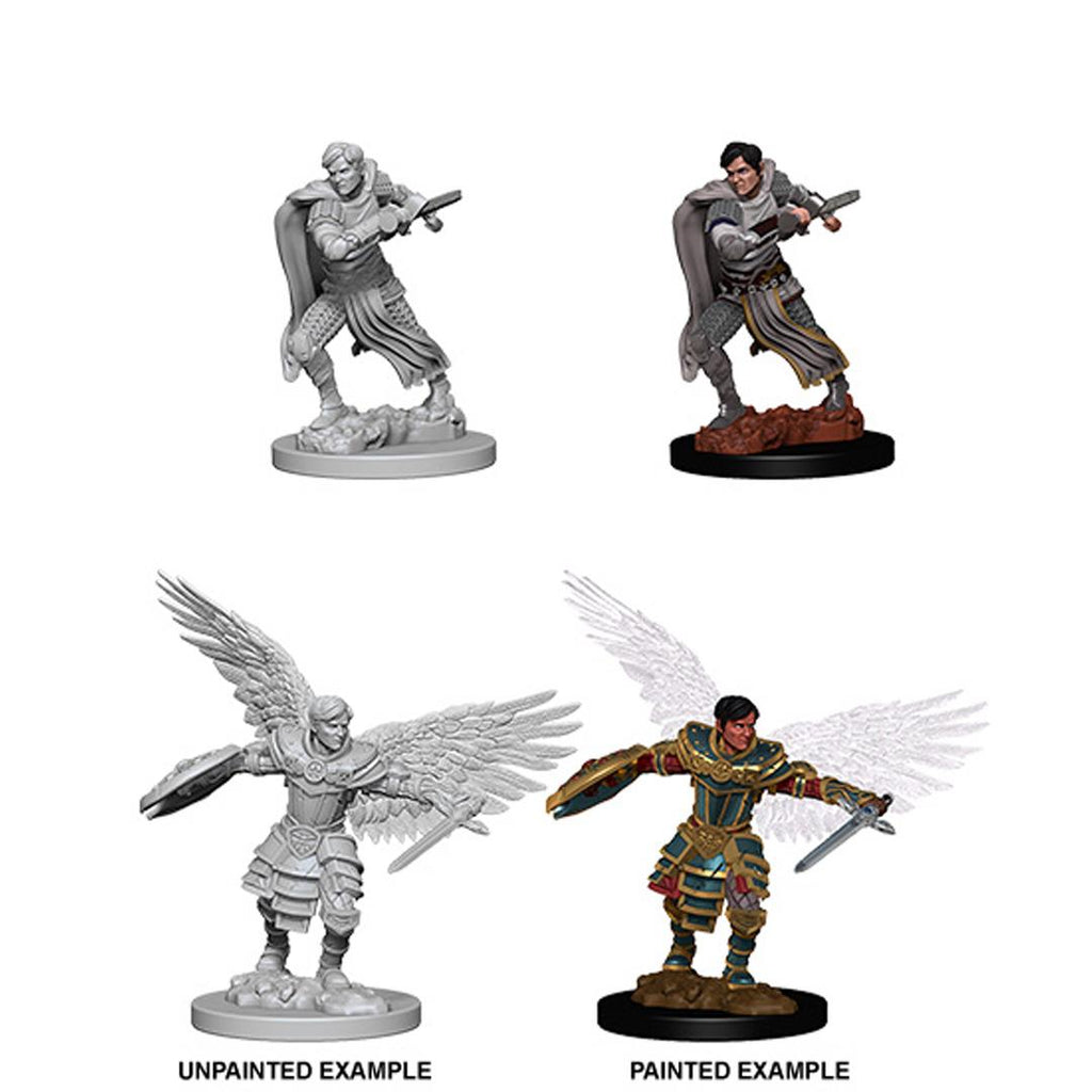 D&D Nolzur's Marvelous Miniatures: Aasimar Fighte