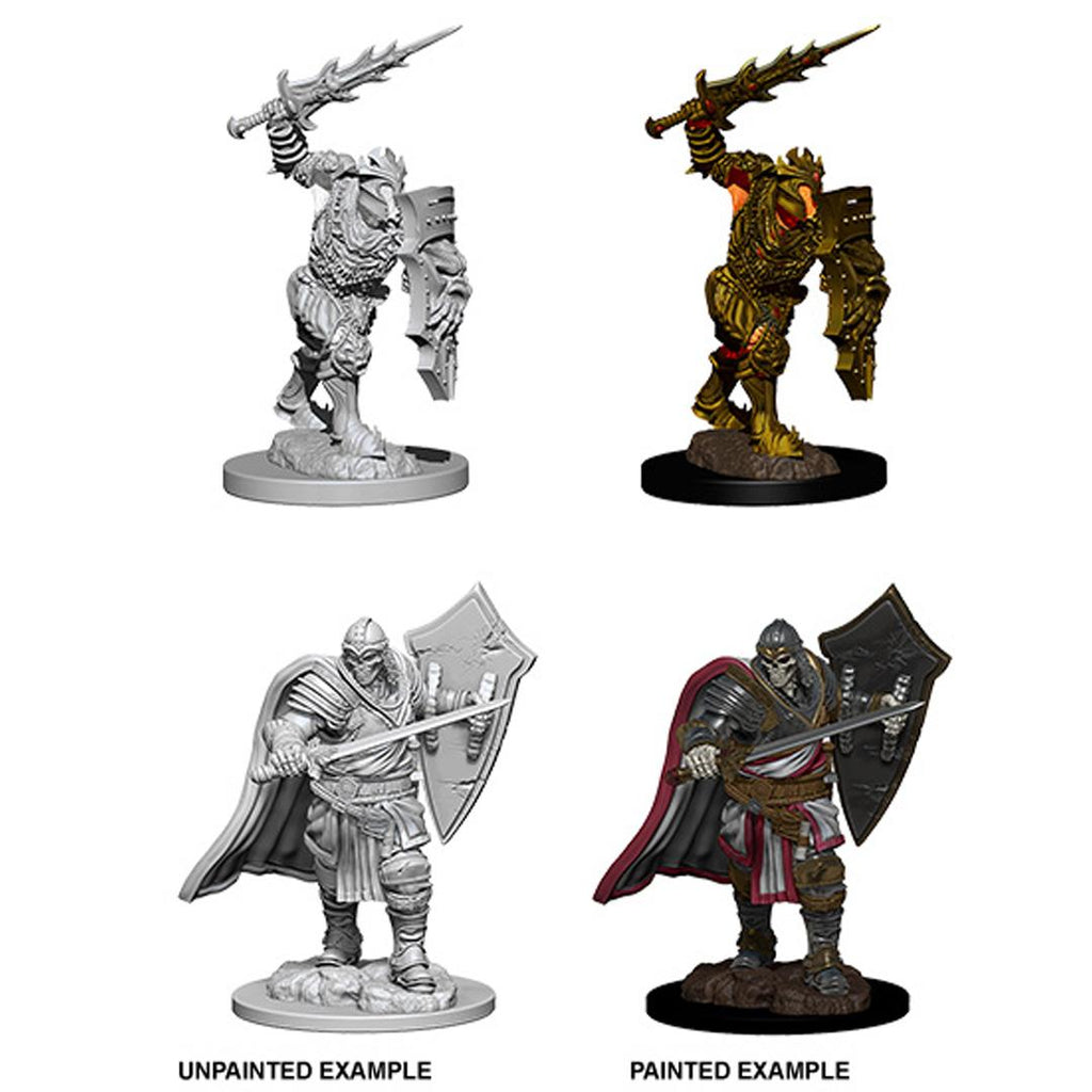 D&D Nolzur's Marvelous Miniatures: Death Knight & Helmed Horror