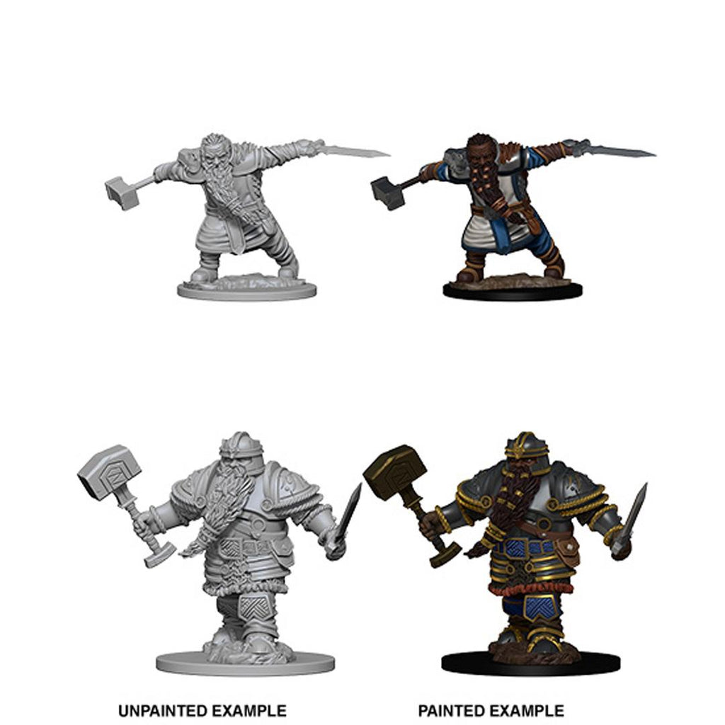 D&D Nolzur's Marvelous Miniatures: Dwarf Fighter