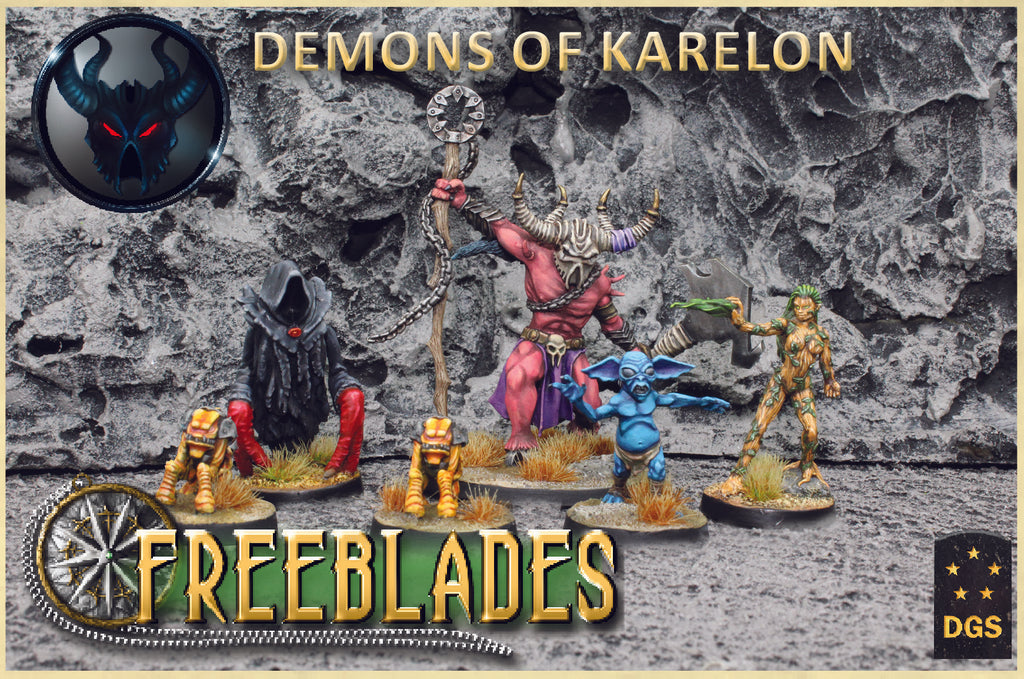 Demons of Karelon Starter Box
