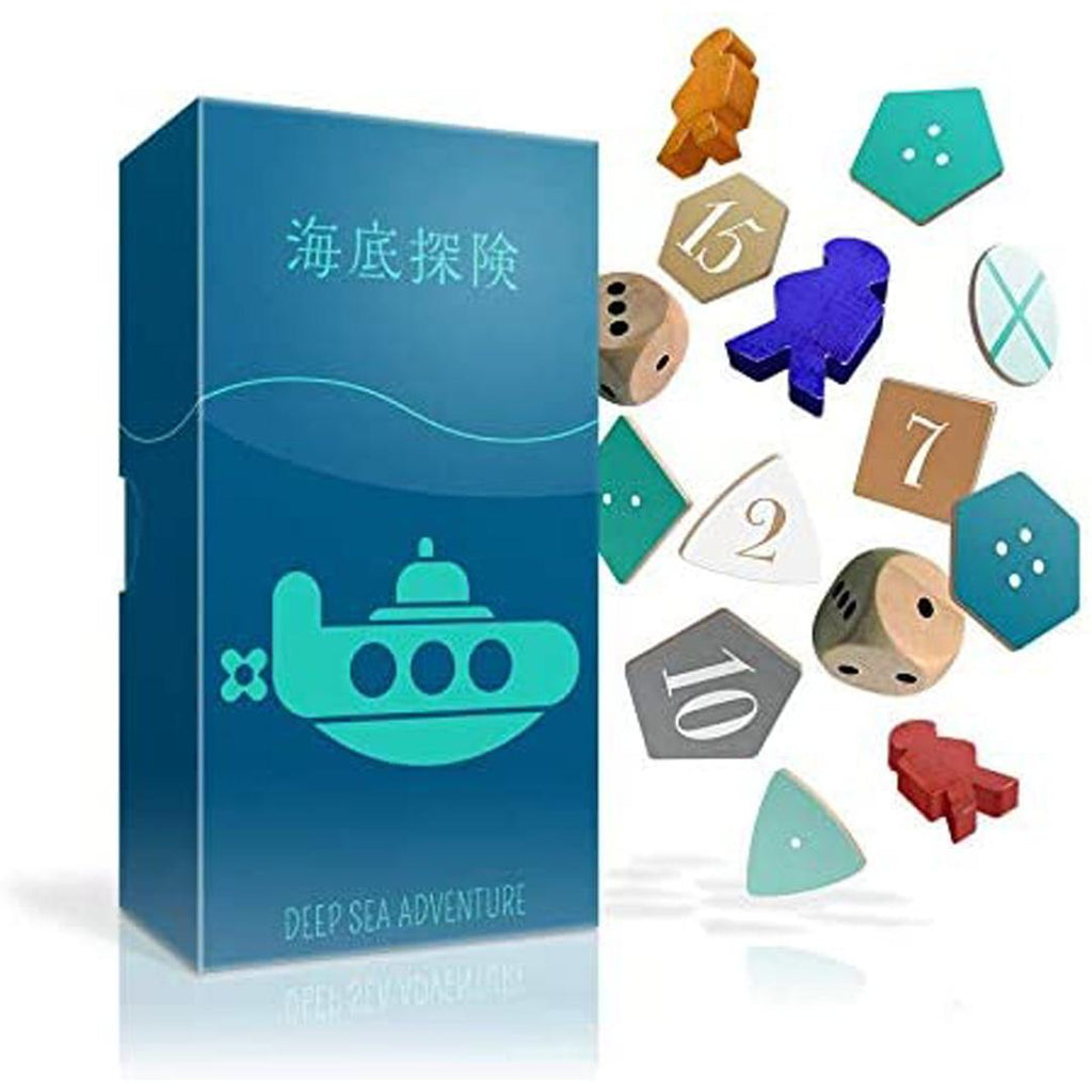 Deep Sea Adventure: A Treasure-Hunting Travel Board Game