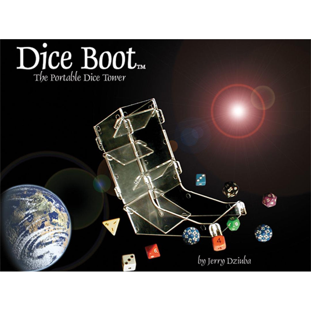 Dice Boot - Dice tower