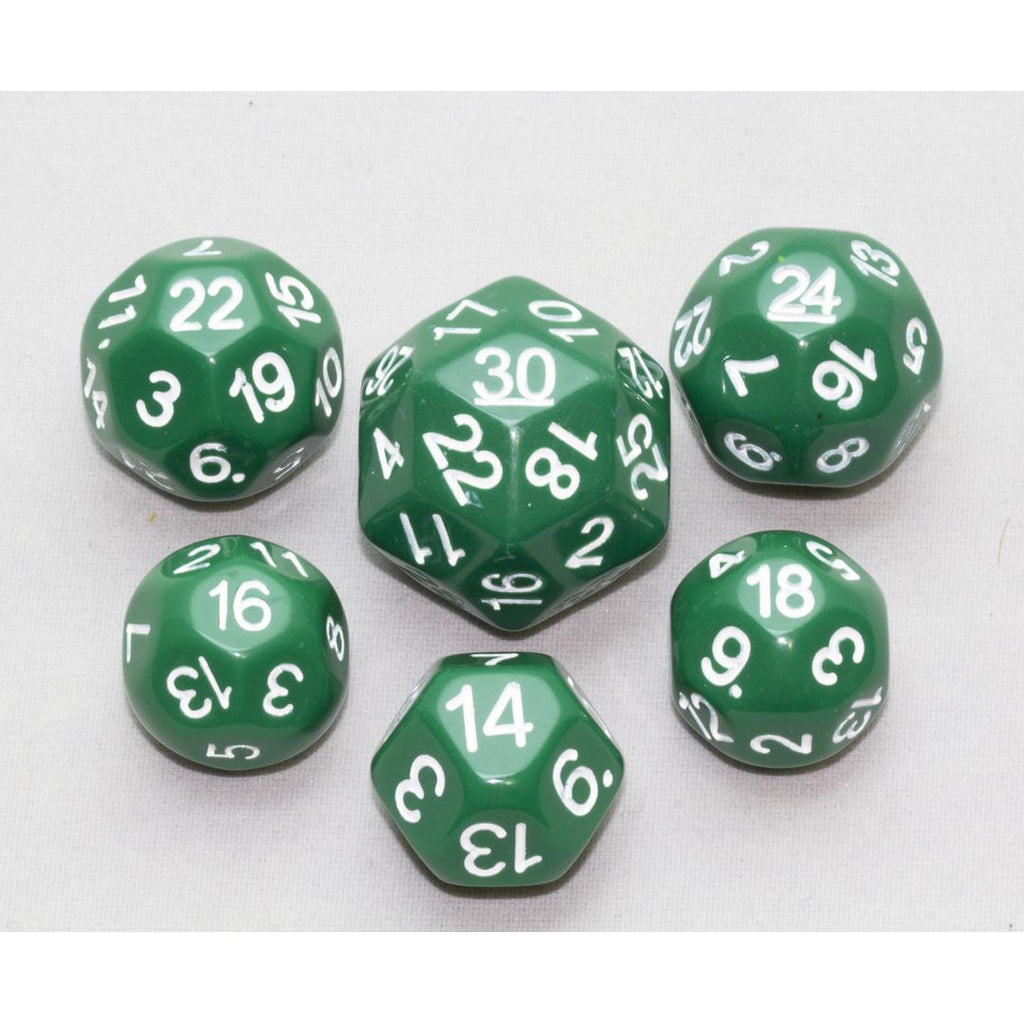 Dice, Green (6 pc upgrade)