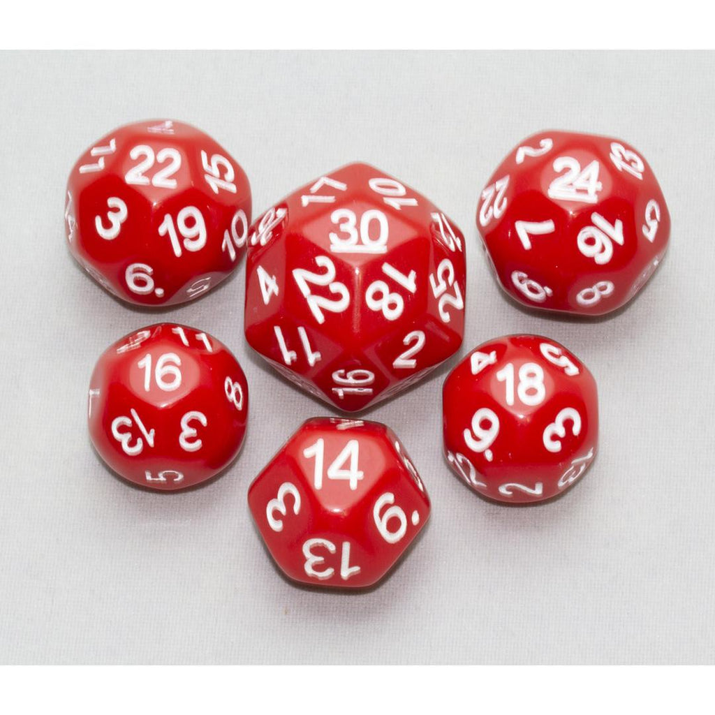 Dice, Red (6 pc upgrade)