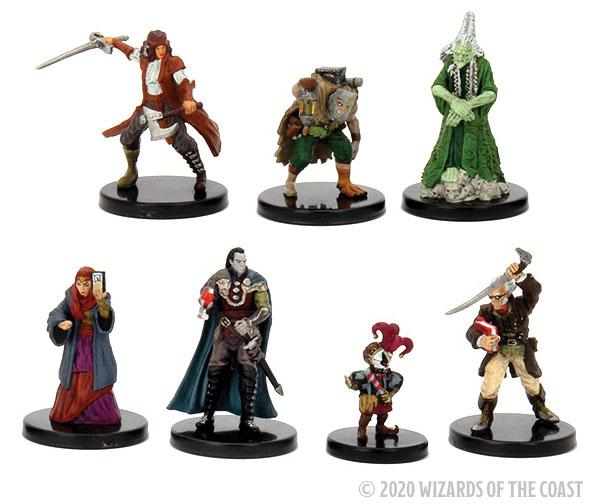 Dungeons & Dragons Fantasy Miniatures: Icons of the Realms - Curse of Strahd Legends of Barovia Prem