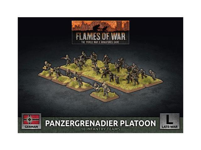 Flames of War: German Armored Panzergrenadier Platoon