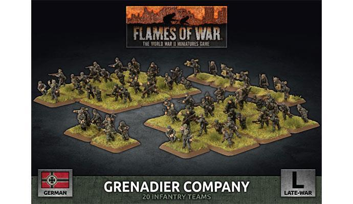 Flames of War: German Grenadier Company