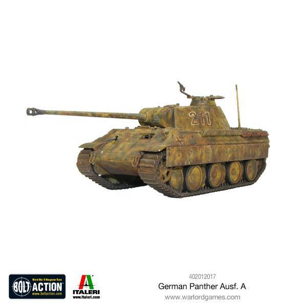 German Panther Ausf A plastic