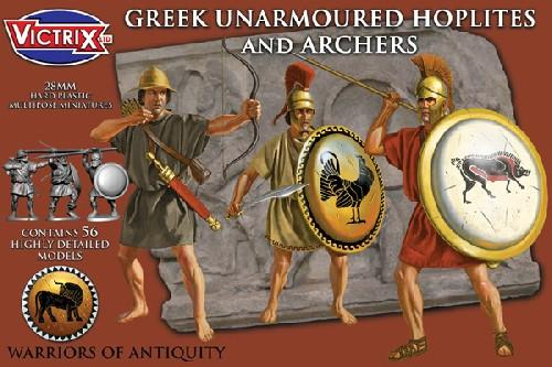 Greek Unarmored Hoplites & Archers