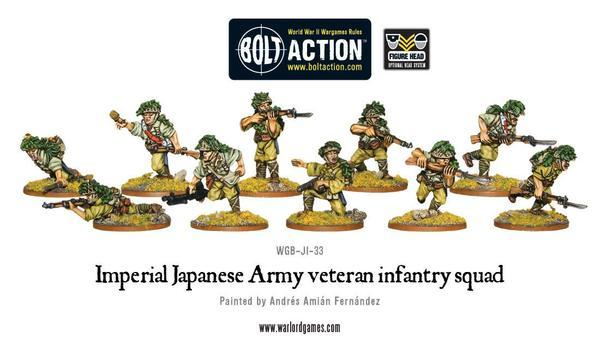 Japanese Veteran Infantry