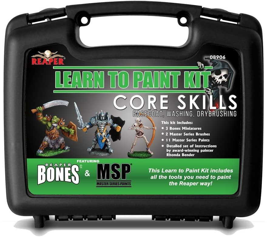 Learn to Paint Kit Bones