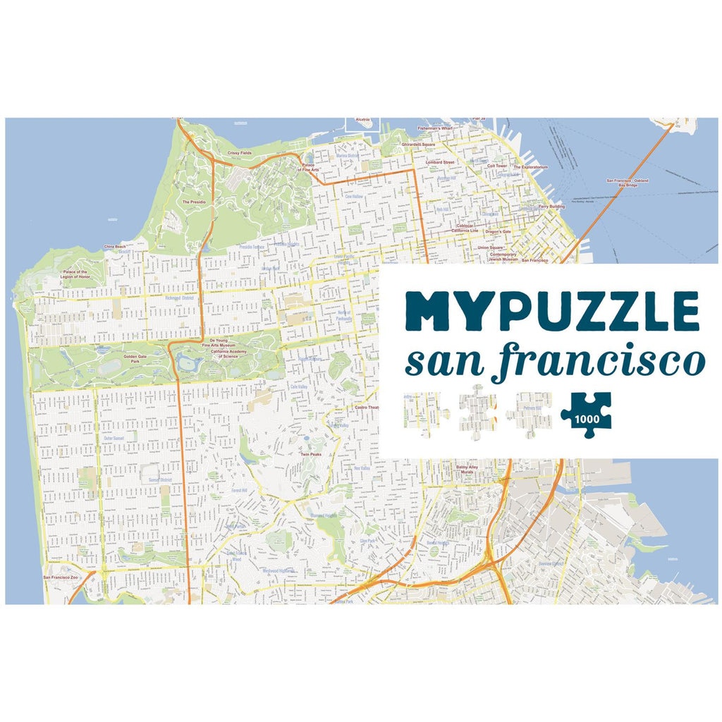 MYPUZZLE San Francisco 1000pc
