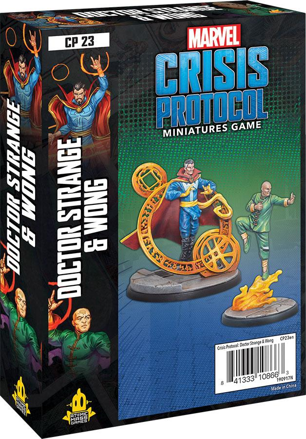 Marvel Crisis Protocol: Dr. Strange and Wong