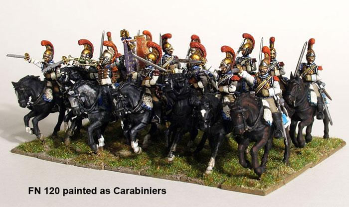 Napoleonic French Heavy Cavalry (Cuirassiers/Carabiniers)