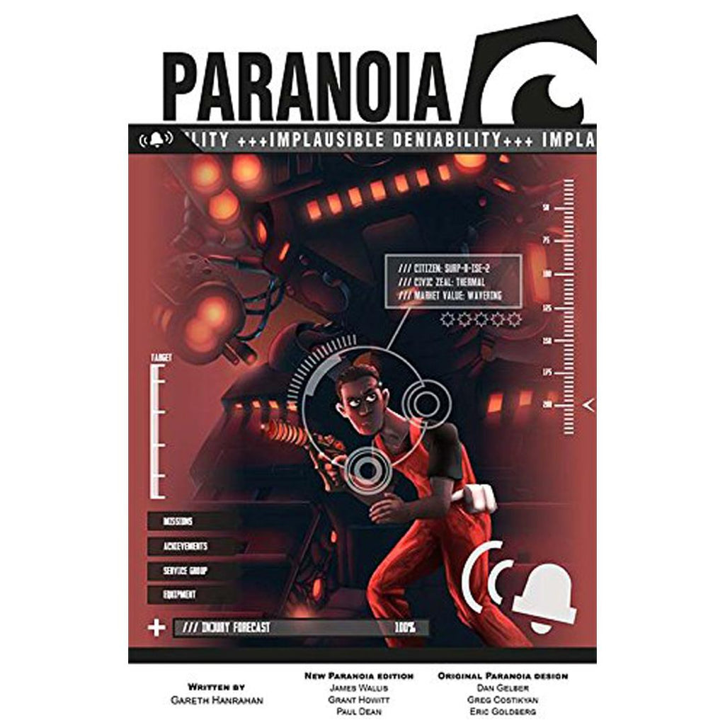 Paranoia: Implausible Deniability (MGP50007)