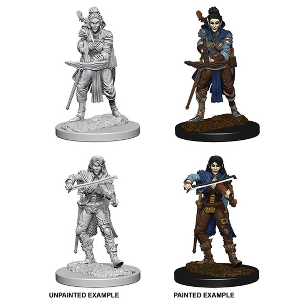 Pathfinder Deep Cuts Unpainted Miniatures: Elf Female Bard