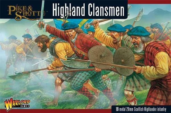 Pike & Shotte Highland Clansmen