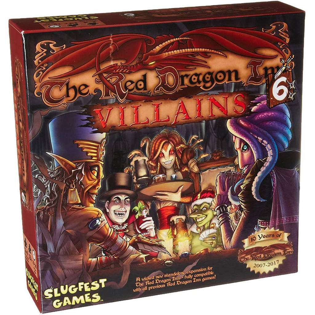 Red Dragon Inn 6: Villians