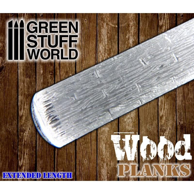 Rolling Pin: Wood Planks