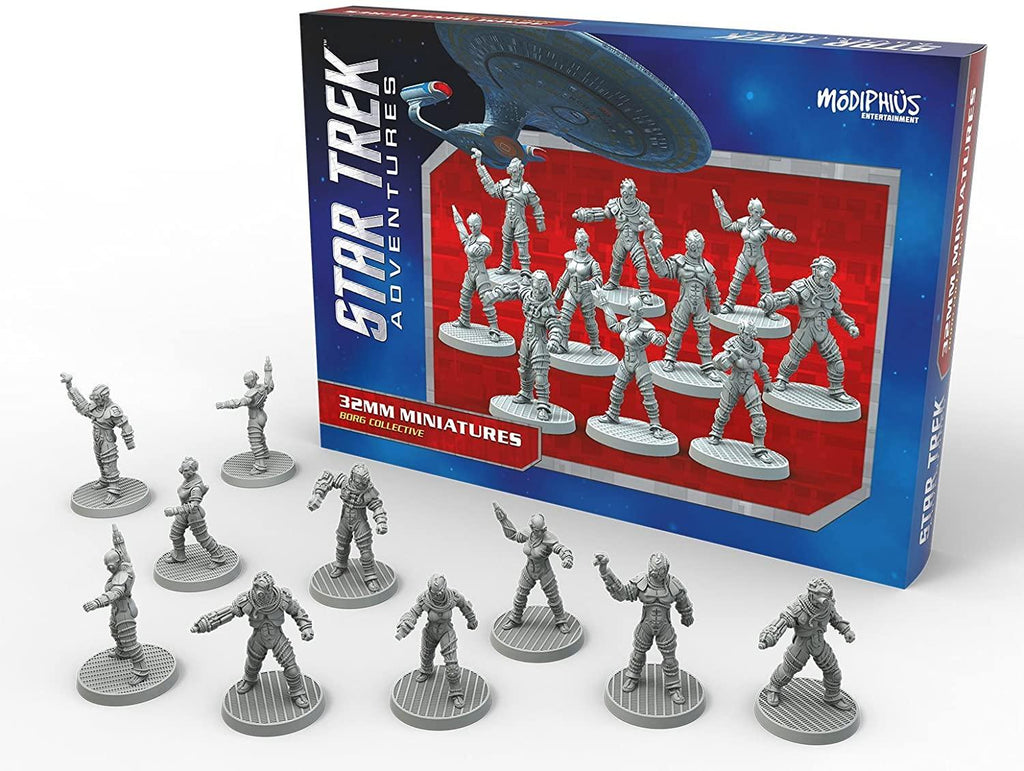 Star Trek Adventures: Borg Collective (32MM Minis Box Set)