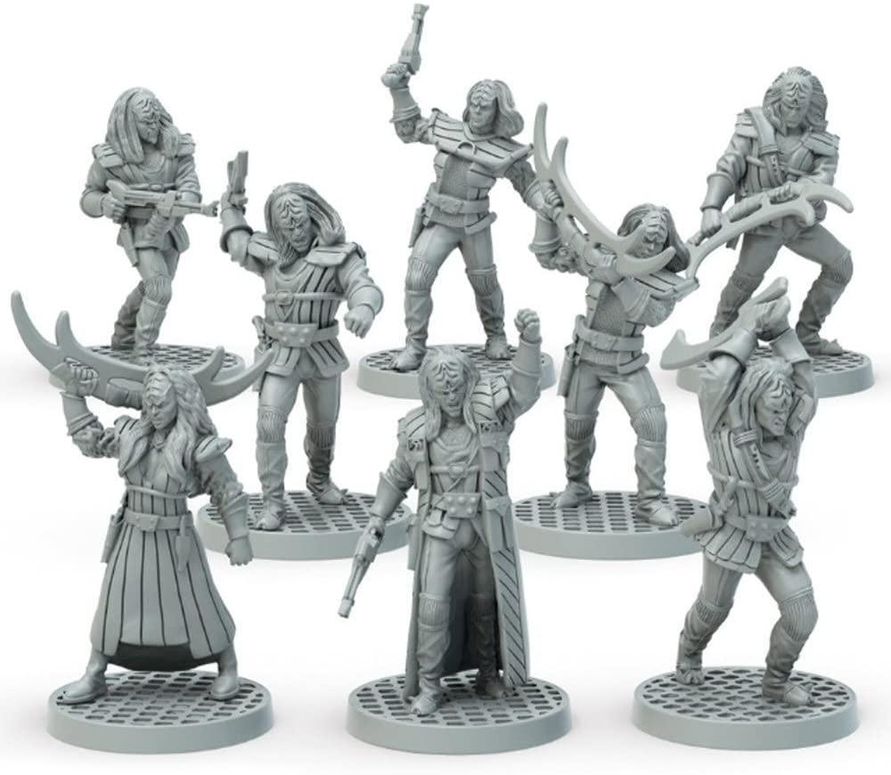 Star Trek Adventures: Klingon Warband (32MM Minis Box Set) Figures