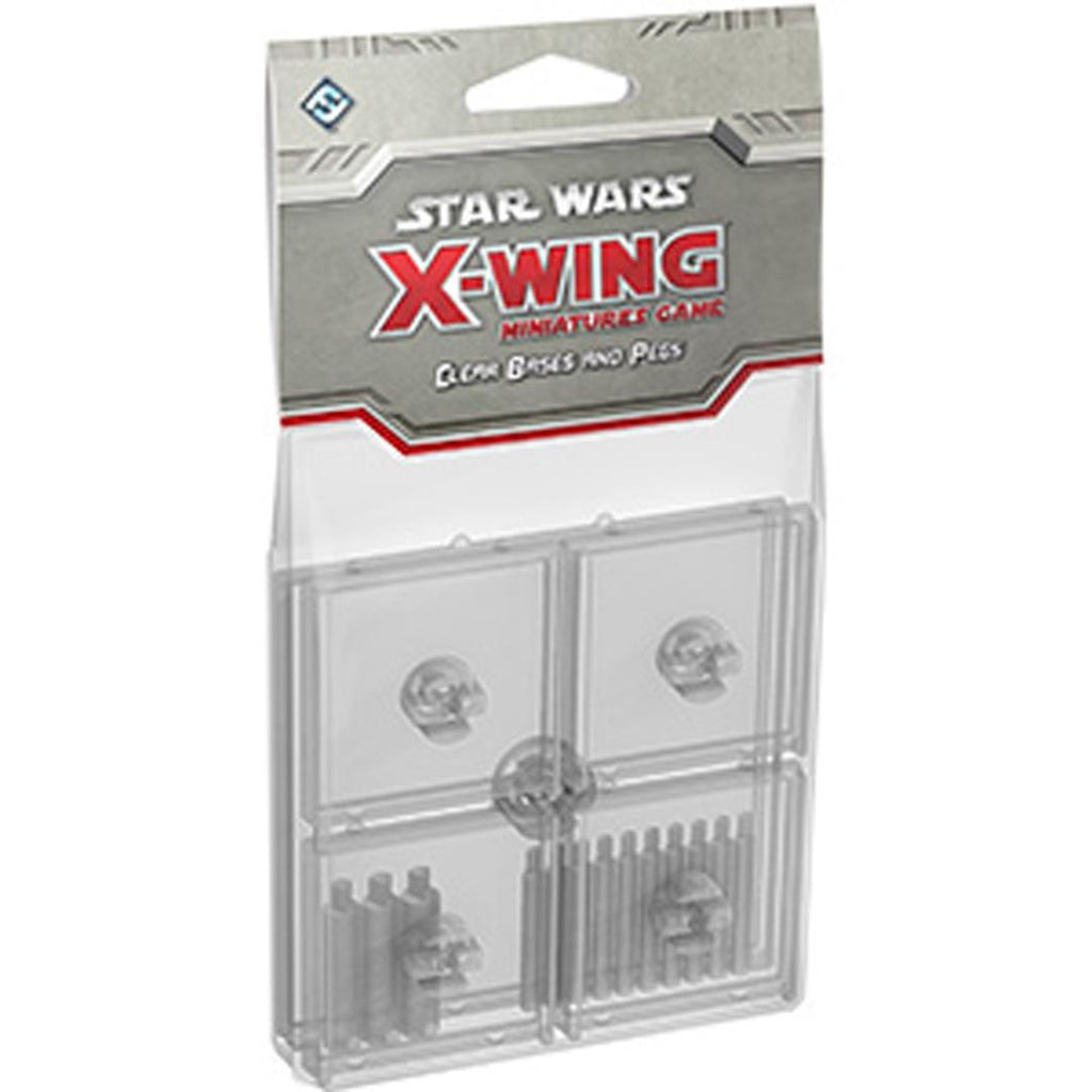 Star Wars: X-Wing - Clear Bases and Pegs