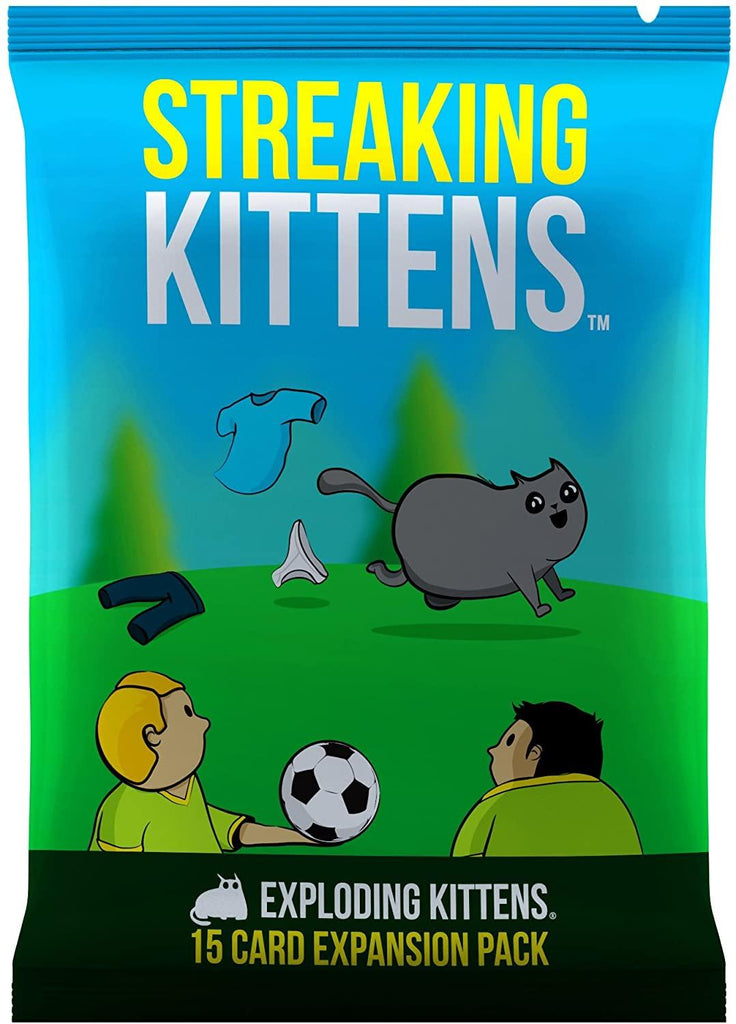 Streaking Kittens: This Is The Second Expansion of Exploding Kittens Card Game
