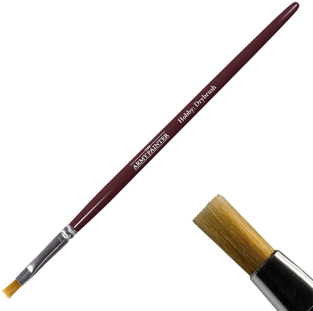 The Army Painter Flat Brush for Drybrushing