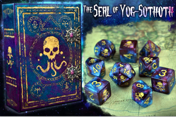 The Seal of Yog-Sothoth COoS Elder Dice 2020