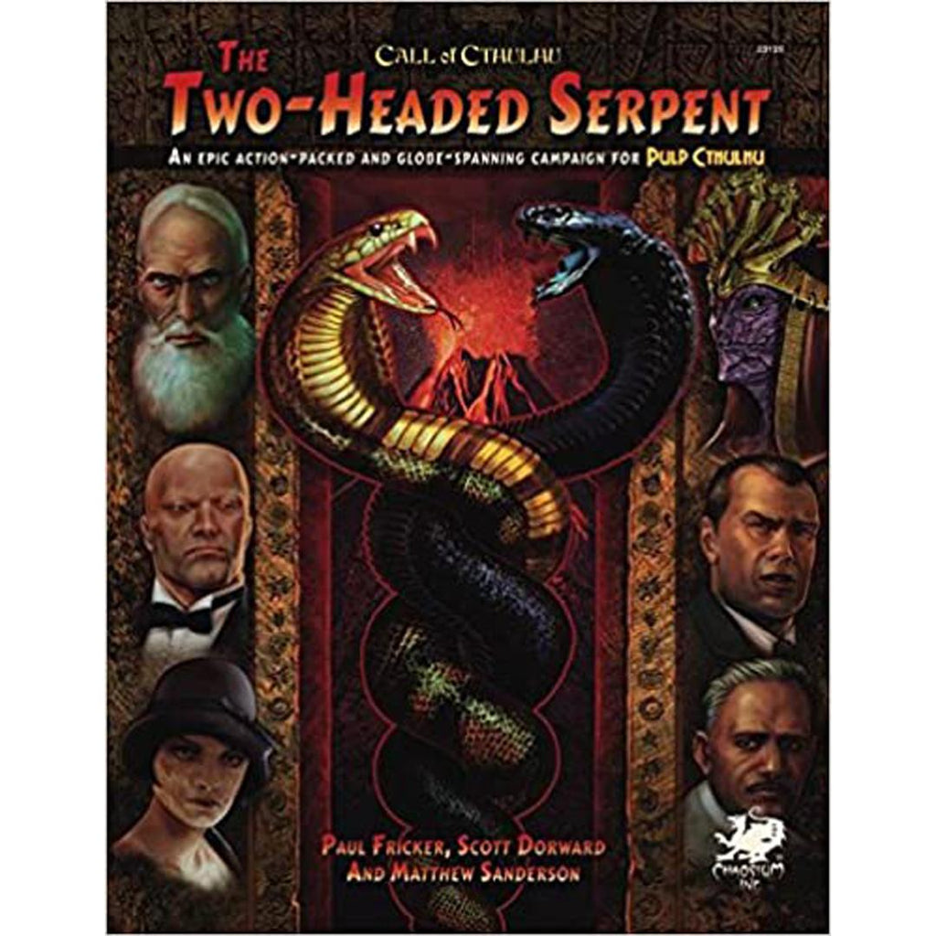 The Two-Headed Serpent (Call of Cthulhu Roleplaying)