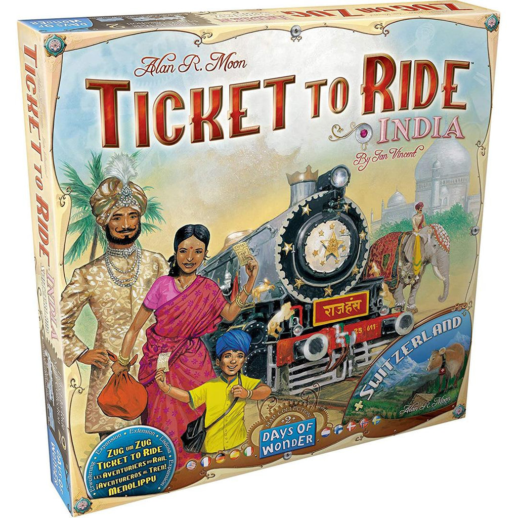 Ticket to Ride India Map CollectionTicket to Ride: India Map Collection Two