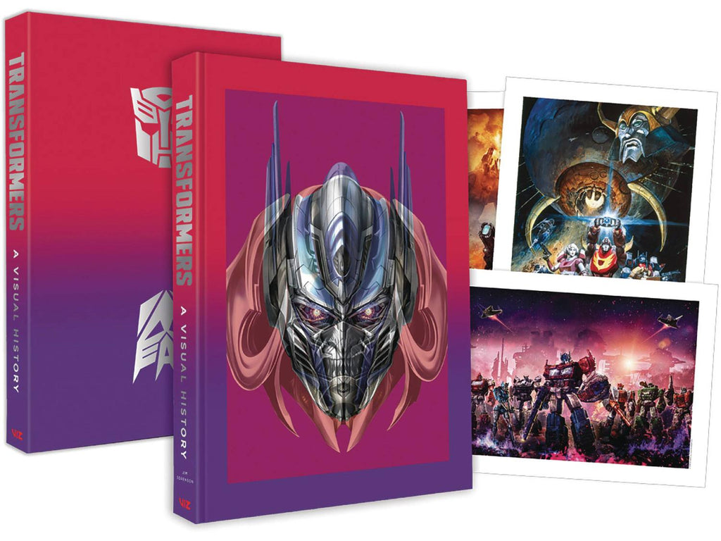 Transformers: A Visual History Limited Edition Hardcover
