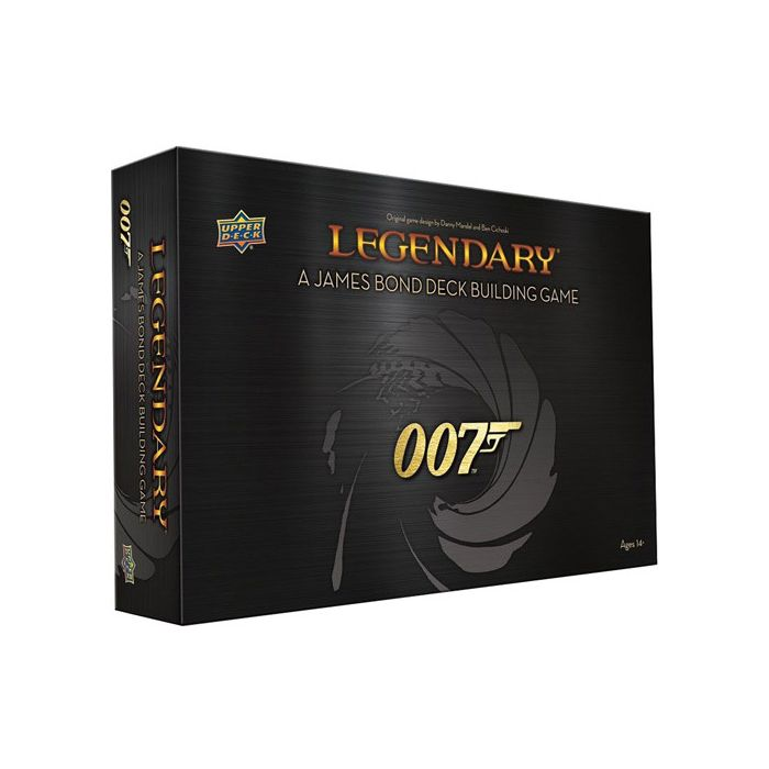 Legendary DBG: 007 - A James Bond Deck Building Game