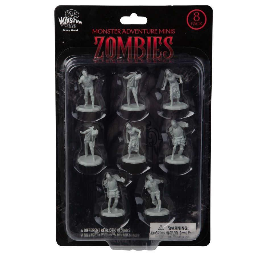 Unpainted Zombies 8 Pack