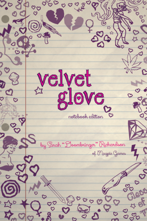 Velvet Glove RPG Notebook Edition