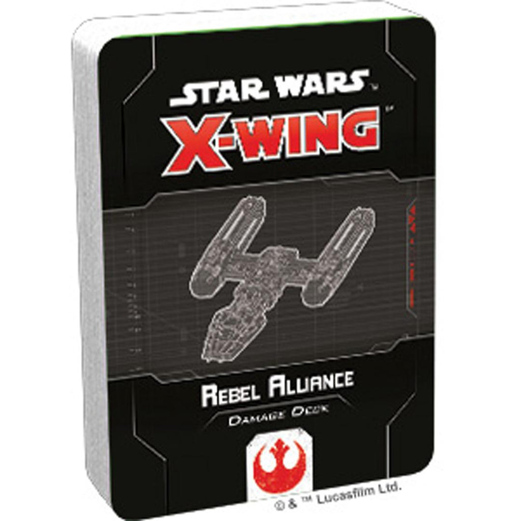 X-Wing Second Edition: Rebel Alliance Damage Deck
