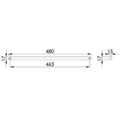 12W Underwater Solid LED Strip Light<br><sub> RC330003</sub>