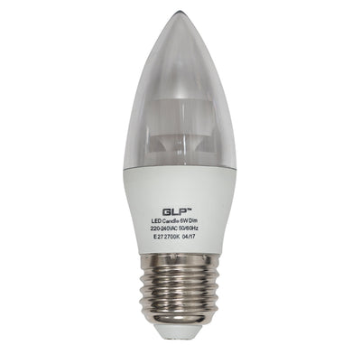 6W LED Candle Lamp <Br><sub>ZORA – CL660075</sub>