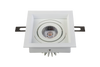 11W Square Recessed Adjustable LED Down Light<Br><sub>LANA – DL110246</sub>