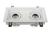 22W Double Head Square Recessed Adjustable LED Down Light<Br><sub>LANA – DL110247</sub>