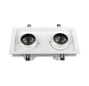 30W Double Head Square Recessed Adjustable LED Down Light<Br><sub>LANA – DL110249</sub>