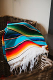 Mexican Adventure Throw Blanket