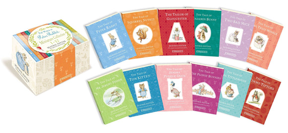 The World of Peter Rabbit miniature collection 1-12