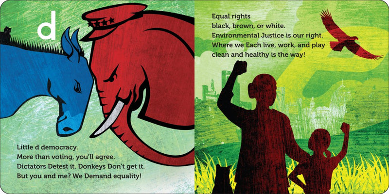A is for Activist - Board Book