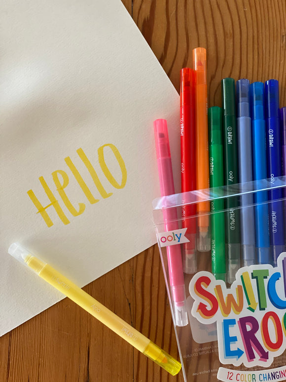 Switcheroo color changing pens