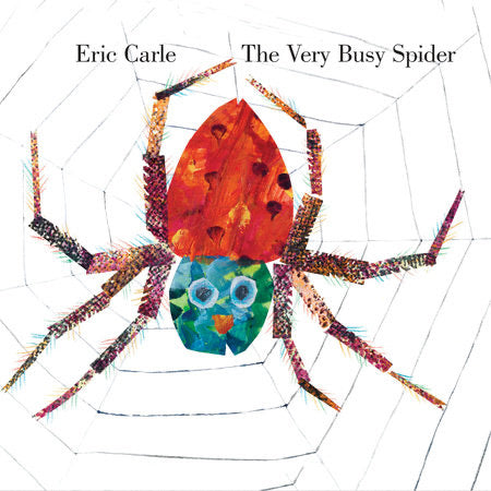 The Very Busy Spider (Extra Large Board Book)