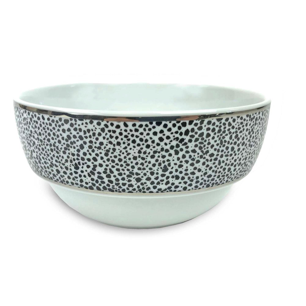 Panthera Platinum Dinner Bowl