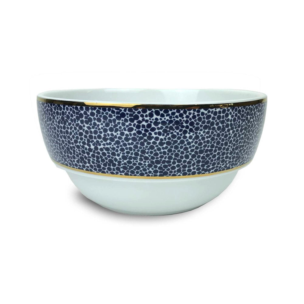Panthera Indigo Dinner Bowl