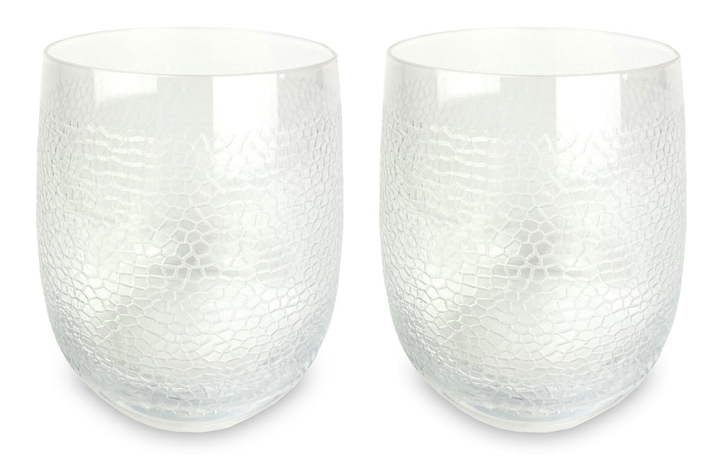 Panthera Clear Double Old Fashioned set of 2